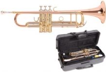 Odyssey Premiere OCR1100 Bb Trumpet Outfit in ABS Case